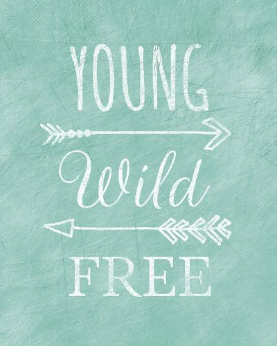 Young Wild Free-Lottie Fontaine-Giclee Print