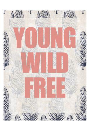 Young Wild Free-Kimberly Allen-Art Print