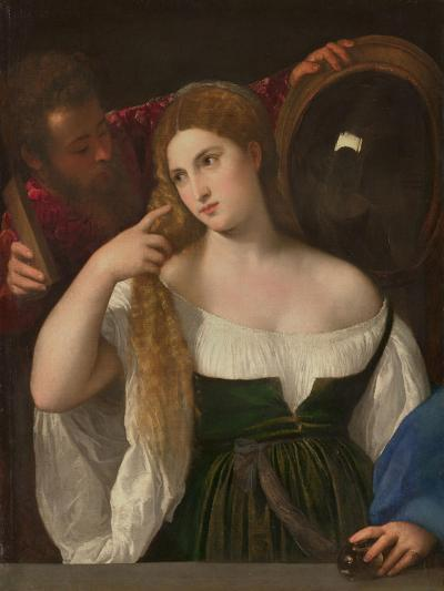 Young Woman at Her Toilette, Ca 1515-Titian (Tiziano Vecelli)-Giclee Print