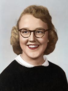 Young Woman Portrait, Ca. 1954
