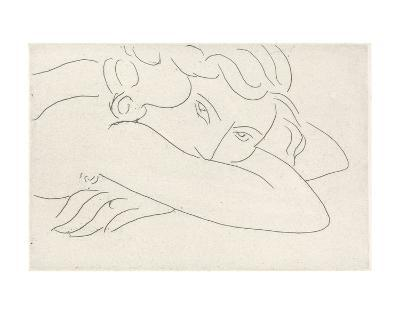 Young Woman with Face Buried in Arms, 1929-Henri Matisse-Art Print