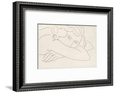 Young Woman with Face Buried in Arms, 1929-Henri Matisse-Framed Art Print