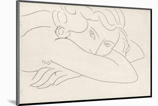 Young Woman with Face Buried in Arms, 1929-Henri Matisse-Mounted Art Print