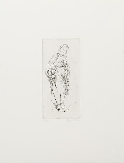 Young Woman with Kerchief-Isabel Bishop-Collectable Print