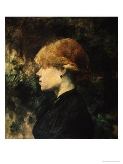 Young Woman With Red Hair-Henri de Toulouse-Lautrec-Giclee Print