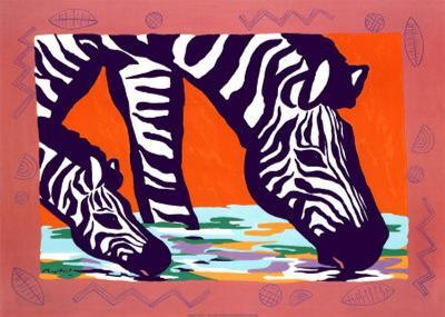 Young Zebra-Gerry Baptist-Art Print