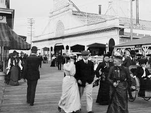 Youngs Pier Boardwalk, Atlantic City, N.J.