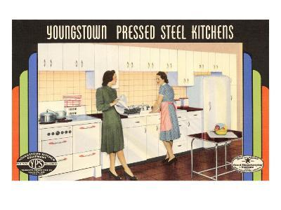 Youngstown Pressed Steel Kitchens--Art Print