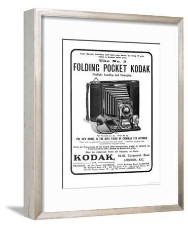 Your Easter Holiday Will Last You Twice as Long if You Take a Kodak with You--Framed Giclee Print