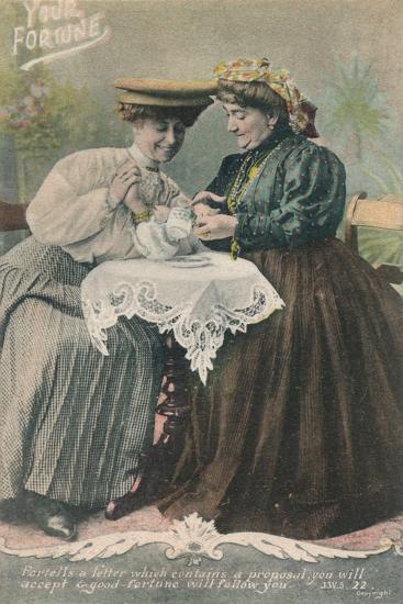 Your Fortune - Fortells a letter which contains a proposal-Unknown-Giclee Print