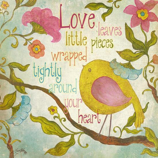 Your Heart-Elizabeth Medley-Premium Giclee Print
