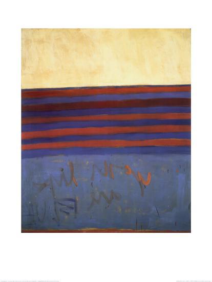 Your Lips Are Blue, c.1958-Frank Stella-Art Print