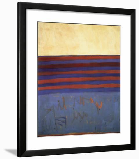 Your Lips Are Blue, c.1958-Frank Stella-Framed Art Print