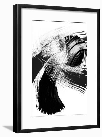 Your Move on White IV--Framed Art Print