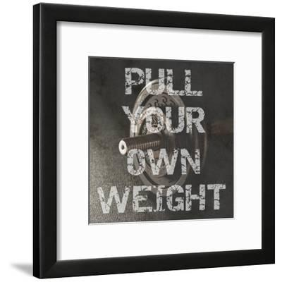 Your Own Weight-Sheldon Lewis-Framed Art Print