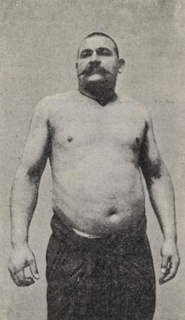 Youssouf. Le plus terrible des lutteurs turcs