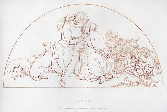Youth, 19th Century-John Everett Millais-Giclee Print