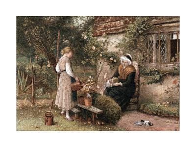 Youth and Age, 1866-Myles Birket Foster-Giclee Print