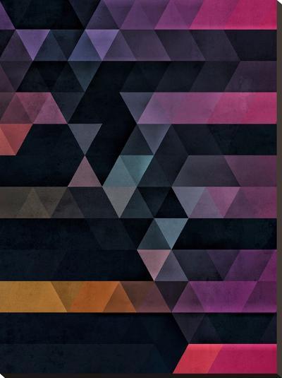 Ypsyde Dwwnsyde-Spires-Stretched Canvas Print