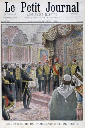Nomination of the New Bey of Tunis, 1902