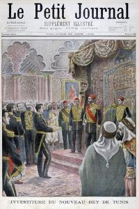 Nomination of the New Bey of Tunis, 1902 by Yrondy