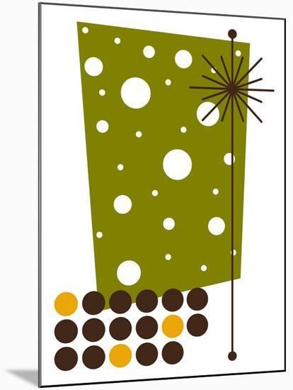 Yucca in Green-Tonya Newton-Mounted Premium Giclee Print