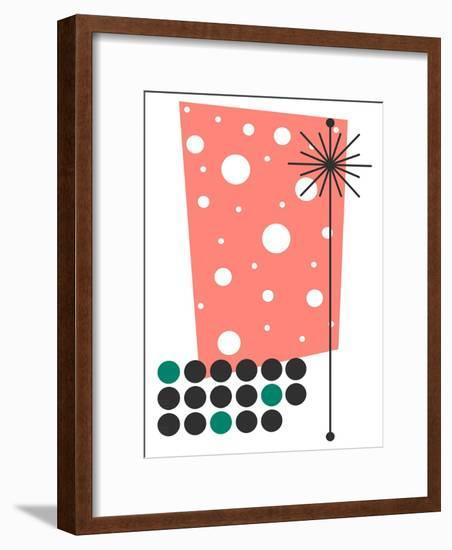 Yucca in Pink-Tonya Newton-Framed Premium Giclee Print
