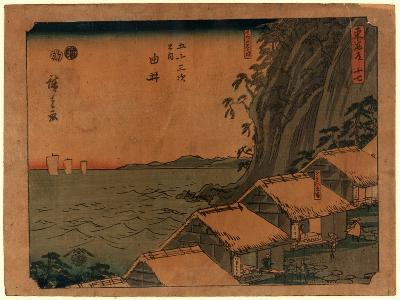 Yui-Utagawa Hiroshige-Giclee Print