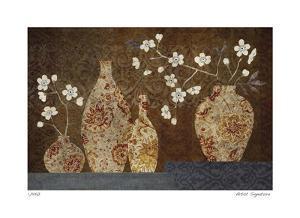 Four Vases I by Yuko Lau