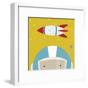 Peek-a-Boo Astronaut by Yuko Lau