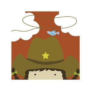 Peek-a-Boo Cowgirl by Yuko Lau
