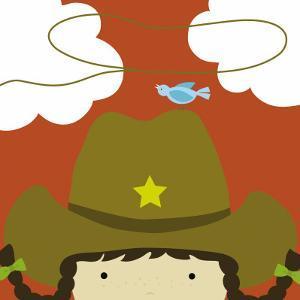 Peek-a-Boo Heroes: Cowgirl by Yuko Lau