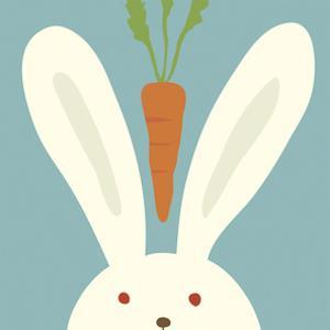 Peek-a-Boo I, Rabbit by Yuko Lau