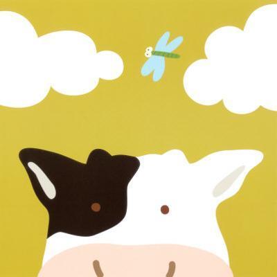 Peek-a-Boo III, Cow by Yuko Lau