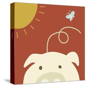 Peek-a-boo IV - Pig by Yuko Lau