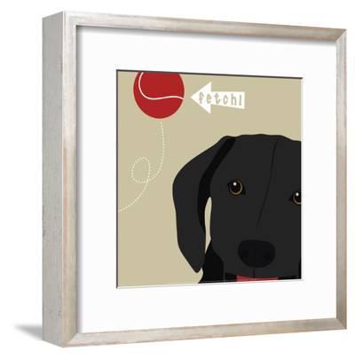 Peek-A-Boo: Labrador