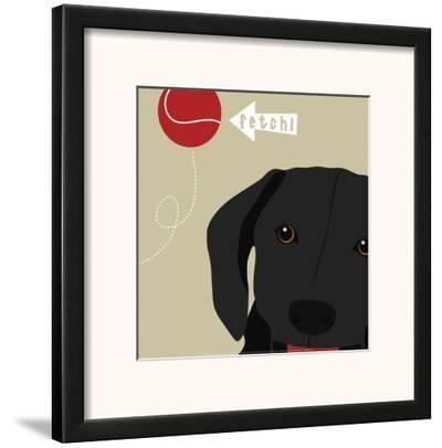 Peek-A-Boo: Labrador by Yuko Lau