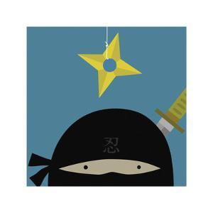 Peek-a-Boo Ninja by Yuko Lau