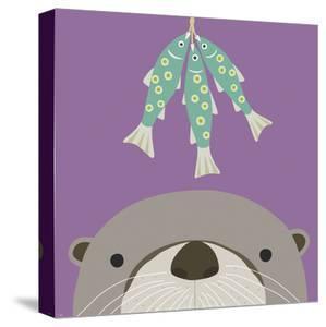 Peek-a-Boo Otter by Yuko Lau