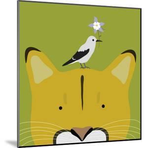 Peek-a-Boo Puma by Yuko Lau