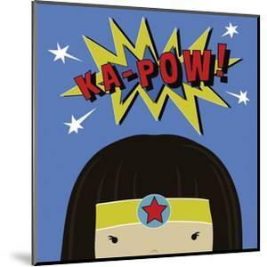 Peek-a-Boo Supergirl by Yuko Lau