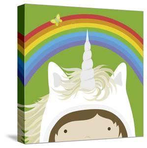 Peek-a-Boo Unicorn by Yuko Lau