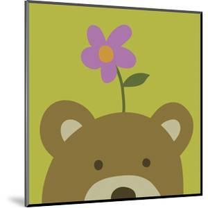 Peek-a-boo VI - Bear by Yuko Lau