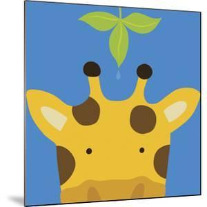 Peek-a-Boo VII, Giraffe by Yuko Lau