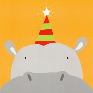 Peek-a-Boo VIII, Hippo by Yuko Lau