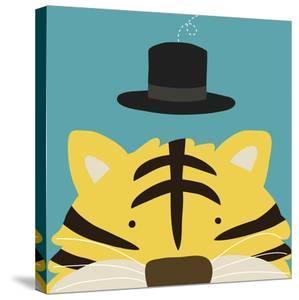 Peek-a-Boo XI, Tiger by Yuko Lau
