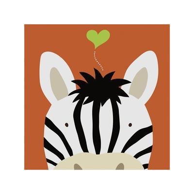 Peek-a-Boo XII, Zebra