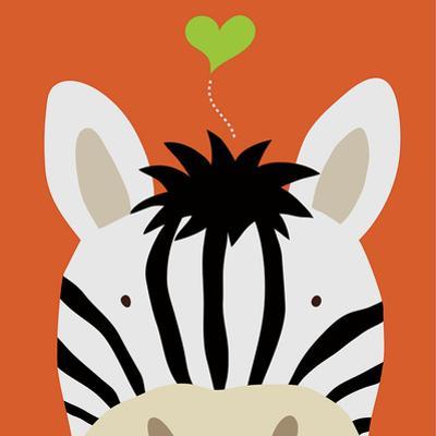 Peek-a-Boo Zebra