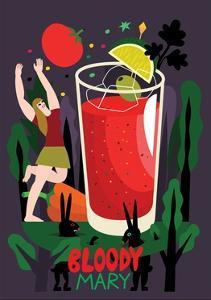 Bloody Mary, 2017 by Yuliya Drobova