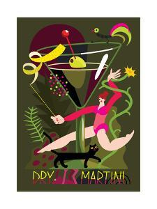 Dry Martini, 2017 by Yuliya Drobova